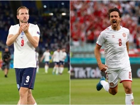 Inglaterra x Dinamarca: saiba onde assistir  AO VIVO esse jogão da Eurocopa