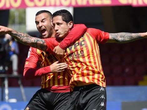 Solo para grandes equipos: Benevento le puso alto precio a Gianluca Lapadula