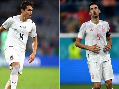 Itália x Espanha: Data, hora e canal para assistir esse duelo da Eurocopa