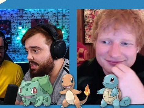 Ed Sheeran confesó ser fanático de Pokémon y eligió entre Bulbasaur, Charmander y Squirtle