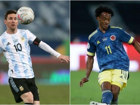 Argentina x Colômbia: saiba onde assistir  AO VIVO esse jogão da Copa América
