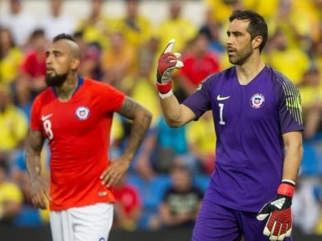 Claudio Bravo destaca positiva nueva relación con Arturo Vidal
