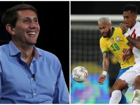 Varsky elogió el juego de Tapia en el Perú ante Brasil: desde cuándo lo sigue y cómo lo calificó