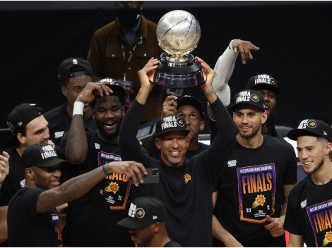 How many times have the Phoenix Suns been to the NBA Finals?