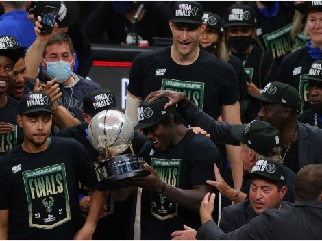 How many times have the Milwaukee Bucks been to the NBA Finals?
