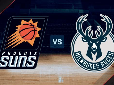 VER HOY | Juego 2 | Phoenix Suns vs. Milwaukee Bucks EN VIVO ONLINE por las Finales de la NBA