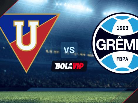 Sigue EN DIRECTO LDU Quito vs. Gremio   TV para mirar ONLINE GRATIS el partido de la Copa Sudamericana