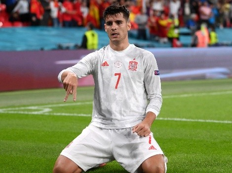Vídeo | Melhor em campo, Espanha empata o jogo com Morata