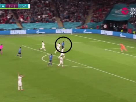 Video: a Italia le anularon un gol idéntico al que Götze le hizo a Argentina