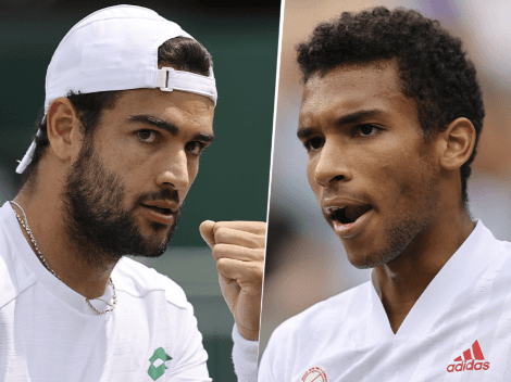 Qué canal transmite Matteo Berrettini vs. Félix Auger-Aliassime por Wimbledon