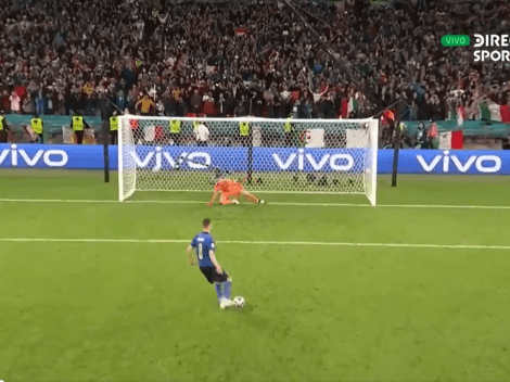 Jorginho clasificó a Italia a la final con un penal que nos enloqueció a todos