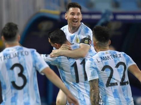 Invicta há 18 jogos, Argentina encara a Colômbia nesta noite em busca de uma vaga a final