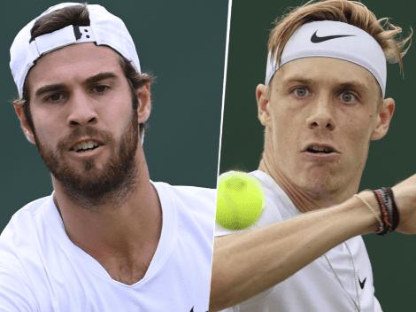 Qué canal transmite Karen Khachanov vs. Denis Shapovalov por Wimbledon