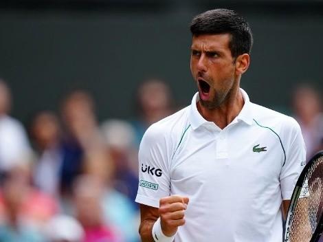 Djokovic vence Marton Fucsovics e avança para às semifinais em Wimbledon
