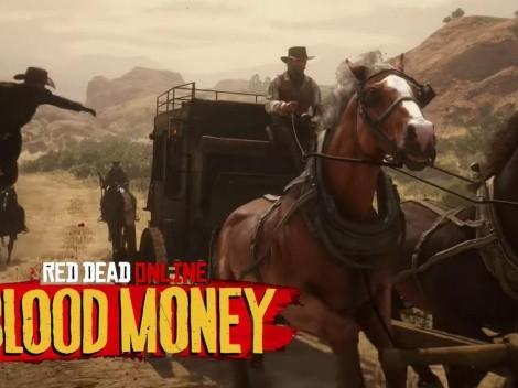 Red Dead Online anticipa su nueva actualización: Dinero Sangriento