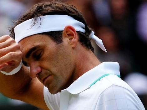 Roger Federer cayó vapuleado en Wimbledon ante Hubert Hurkacz