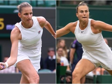 Karolina Pliskova vs Aryna Sabalenka: Predictions, odds and how to watch Wimbledon 2021 semi-finals in the US