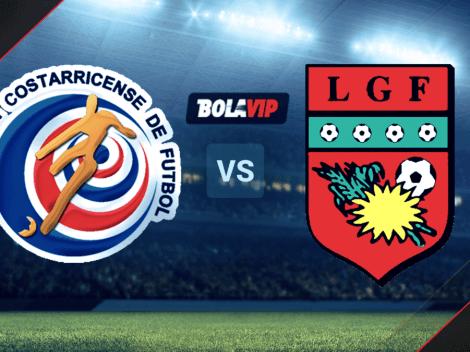 HOY   Costa Rica vs. Guadalupe: cómo, cuándo y dónde ver EN VIVO el partido por la Copa Oro