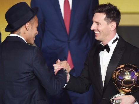 La otra final en la que se enfrentaron Messi y Neymar