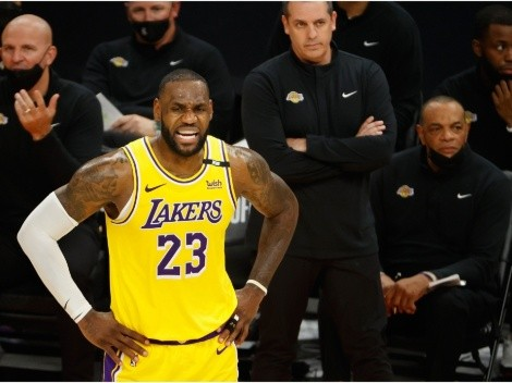 LeBron James makes his prediction for the NBA Finals