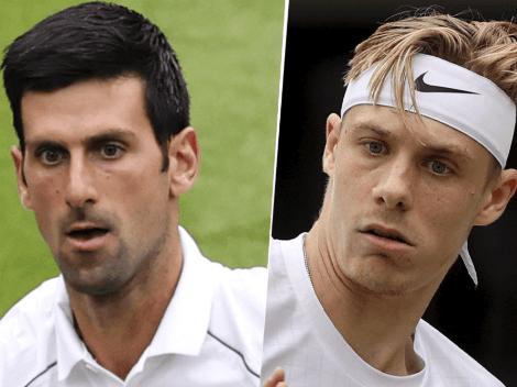 Dónde seguir EN VIVO Novak Djokovic vs. Denis Shapovalov | TV de la semifinal por Wimbledon