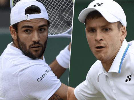 Qué canal transmite Matteo Berrettini vs. Hubert Hurkacz por Wimbledon