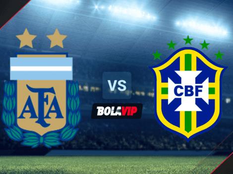 Argentina vs. Brasil EN VIVO y EN DIRECTO por la FINAL de la Copa América 2021   Formaciones titulares en el Estadio Maracaná