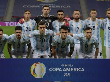 Se for campeã, Argentina irá igualar número de títulos da seleção brasileira