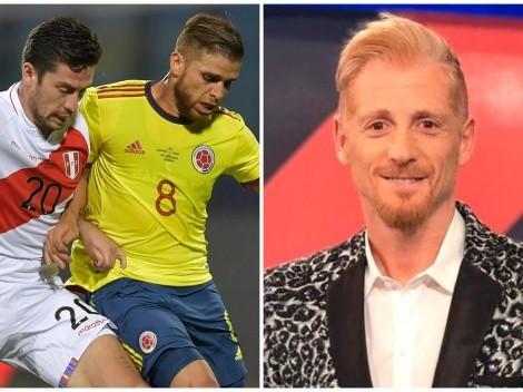 Liberman se vuelve viral por su polémica opinión del Perú vs. Colombia por la Copa América