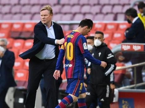 Koeman y Laporta, más unidos que nunca por Messi