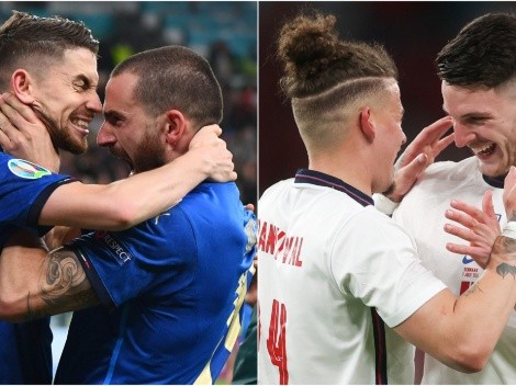 Italy vs England: Confirmed lineups for Euro 2020 Final at Wembley