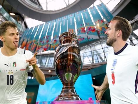 APUESTAS: Final Italia vs Inglaterra y sus momios