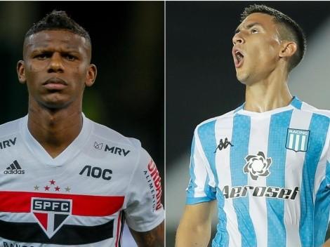 São Paulo x Racing: saiba onde assistir ao vivo à partida das oitavas da Copa Libertadores