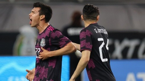 Hirving Lozano hopes to lead Mexico to a second-straight Gold Cup title. (Getty)