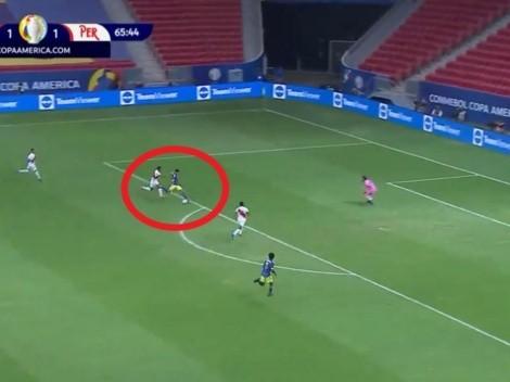 Locura absoluta: asistencia de lujo de Camilo Vargas para otro gol de Luis Díaz