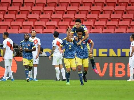 Perú tropieza en el final ante Colombia y se queda cuarto en la Copa América