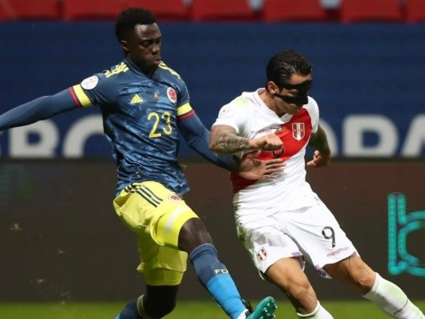 Jugador x Jugador de Perú vs. Colombia