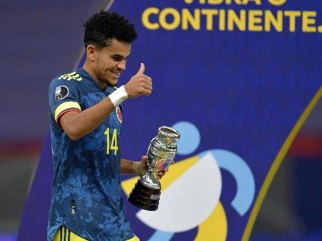 Luis Fernando Díaz ya está en la cima de goleadores de la Copa América