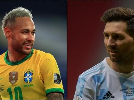 VER EN USA | Argentina vs. Brasil EN VIVO: Pronósticos, cuándo y dónde ver partido por Copa América 2021