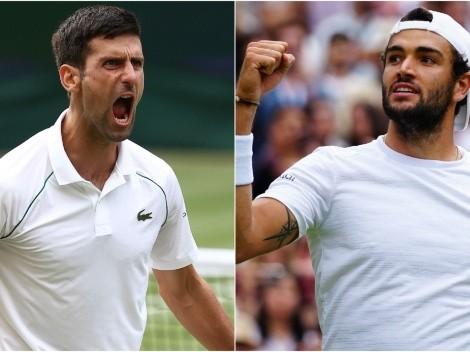 Novak Djokovic vs Matteo Berrettini: Preview, predictions, odds and how to watch Wimbledon 2021 Men's Final today