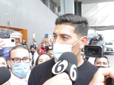Esteban Andrada se rindió a los pies de Monterrey