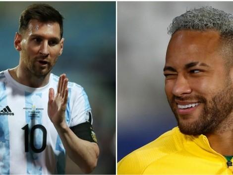 ¿Neymar o Messi? ¿Quién levanta la Copa América?