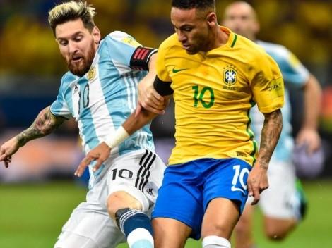 Lionel Messi y Neymar fueron elegidos por la Conmebol como los mejores de la Copa América