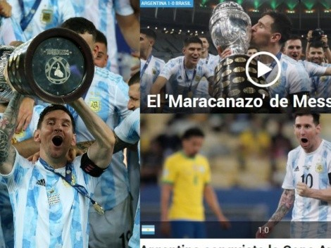 Europa se rinde a Messi