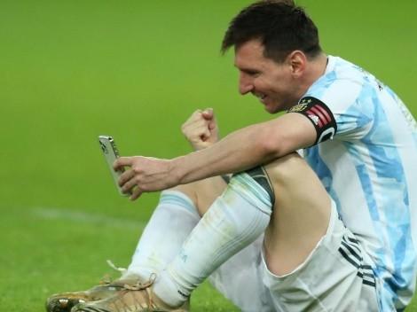 A esto sobrevivió Messi para ser campeón con Argentina