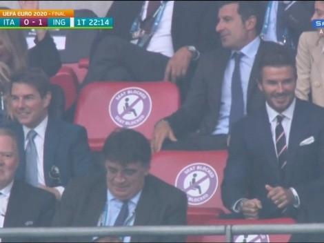 Tom Cruise e David Beckham aparecem juntos na final da Eurocopa entre Itália x Inglaterra e internautas vão à loucura; veja os memes