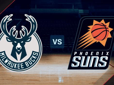 VER HOY | Juego 6 | Milwaukee Bucks vs. Phoenix Suns EN VIVO por las Finales de la NBA | Horario, canal de TV y pronósticos EN DIRECTO
