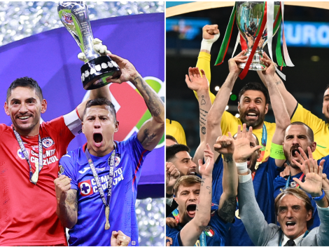 De campeón a campeón: Cruz Azul felicitó a Italia por la Eurocopa