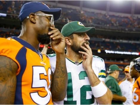 NFL rumors: Von Miller says Broncos can land Aaron Rodgers