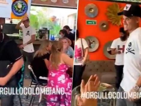 Video: aplausos a Luis Díaz tras reconocerlo en un restaurante de Barranquilla